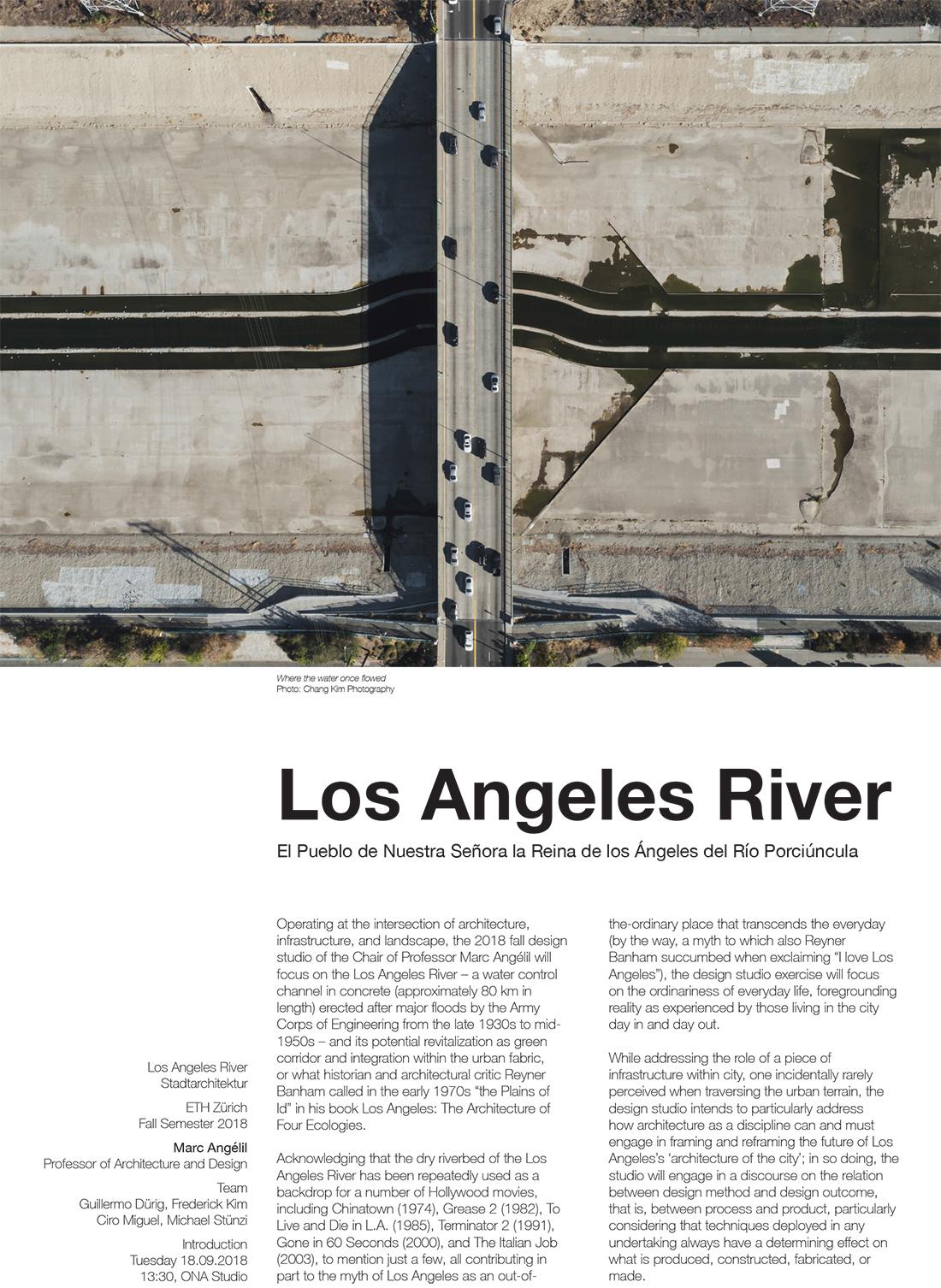 HS 18_LA River Studio Poster